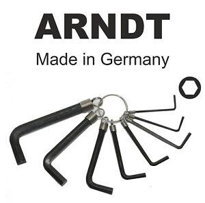 Ball End LONG 8mm 5//16/'/' Allen Alen Alan Hexagonal Hex Keys ARNDT GERMANY 302