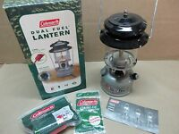 In Box Coleman Two Mantle Dual Fuel Lantern 285-700 Free Shipping