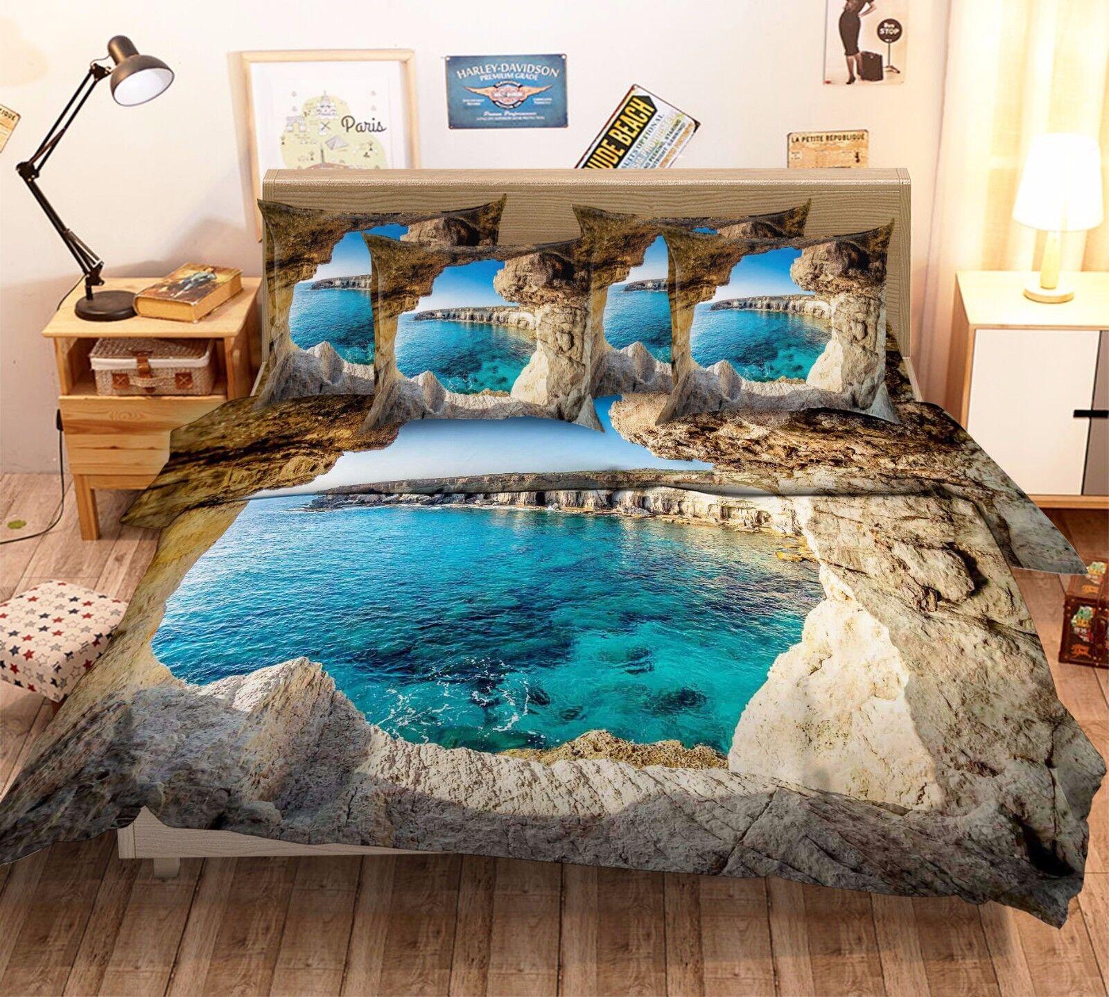 3d grotta PISCINA 787 LETTO FEDERE steppe duvet de set soffitto Single de duvet Kyra 273ed2