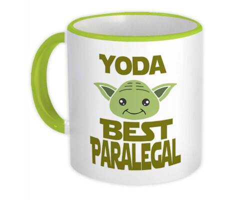 Gift Mug You Are Family Christmas Yoda Best Paralegal Ever