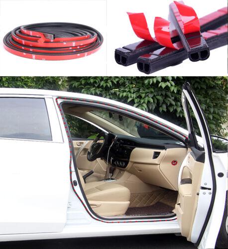 5M EPOM Car Door Window Seal Strip Anti-dust,Wind,Vibration Rubber Strips B-Type