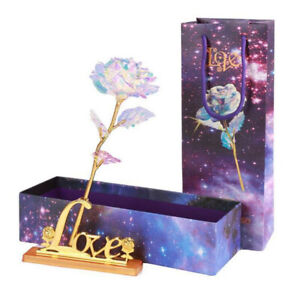 Valentine-039-s-Day-Galaxy-Rose-Romantic-Crystal-Flower-Lovers-Rose-With-Gift-Box