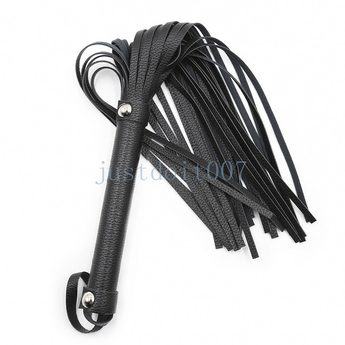 Riding Crop PU Pelle Whip Flogger Handle Restraints Roleplay Roleplay Roleplay Queen Slave Nuovo 56fcaf