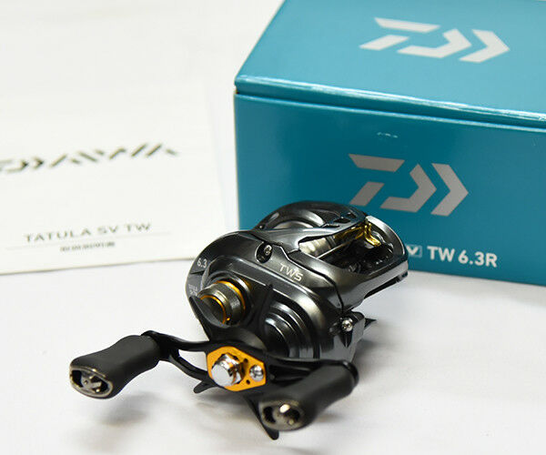 Daiwa TATULA SV TW 6.3R (RIGHT HANDLE)  Bait Casting Reel