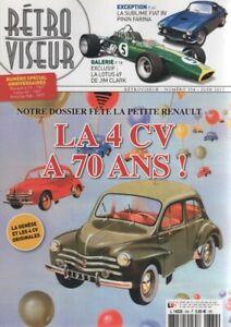 RETROVISEUR-334-DOSSIER-RENAULT-4CV-MAYBACH-DS8-1931-LOTUS-49-1967-FIAT-8V-FARIN