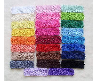 26pcs New Crochet Kid Baby Girl Headband Headwrap Headbands Headwear