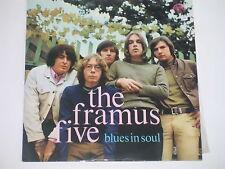 THE FRAMUS FIVE -Blues In Soul- LP Supraphon orange Stereo-Label