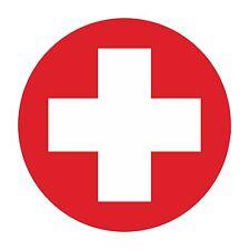 Adesivo Svizzera Swiss AF ROUND Militare