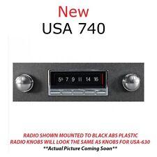 NEW USA 740 1967 67 Chevelle El Camino AM/FM Radio Bluetooth W/Mic IPOD USB AUX