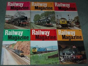 RAILWAY-MAGAZINE-1975-COMPLETE-12-ISSUES