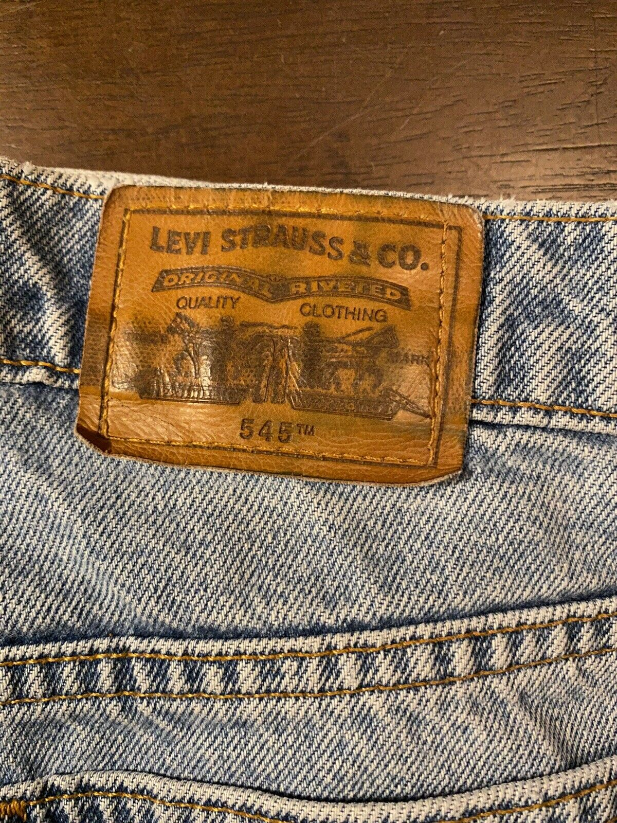 Vintage Levis (Brown Tab) Made In USA - image 3