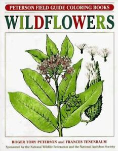 Stock Photo Wildflowers Peterson Field Guide Coloring Books