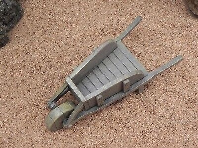 Dollhouse Miniature Wheelbarrow NativityVillage Garden Accessory Tool Resin
