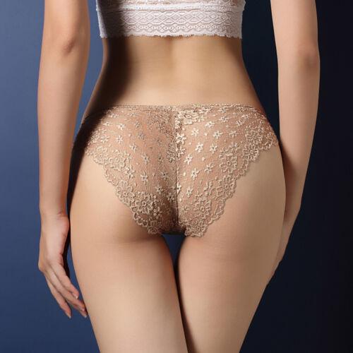 US Women/'s Lace Panties Briefs Underwear Lingerie Knickers Thongs G-String
