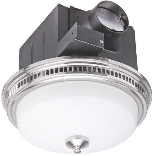 Bathroom Vent Fan With Light Air Exhaust Ventilation Bath Ceiling Fixture 110cfm