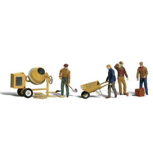 Woodland Scenics A2173 N Gauge Masonry Workers