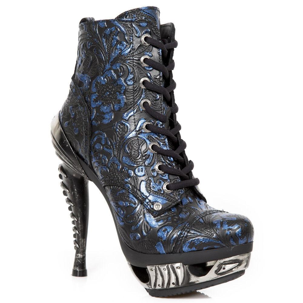New Rock NR NR NR M.MAG016 S27 purplec,bluee - Boots, Magneto, Women 37a821