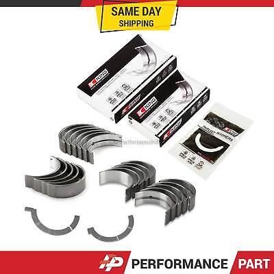 Fit 01-05 Honda Civic DX LX EX HX GX Engine Bearing Set D17A1 D17A2 D17A6 D17A7