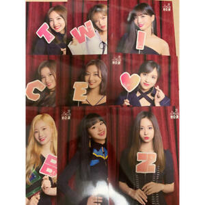 TWICE-JPN-ARENA-TOUR-2018-BDZ-FC-ONCE-Limited-Official-Live-Photocard-All-9-set