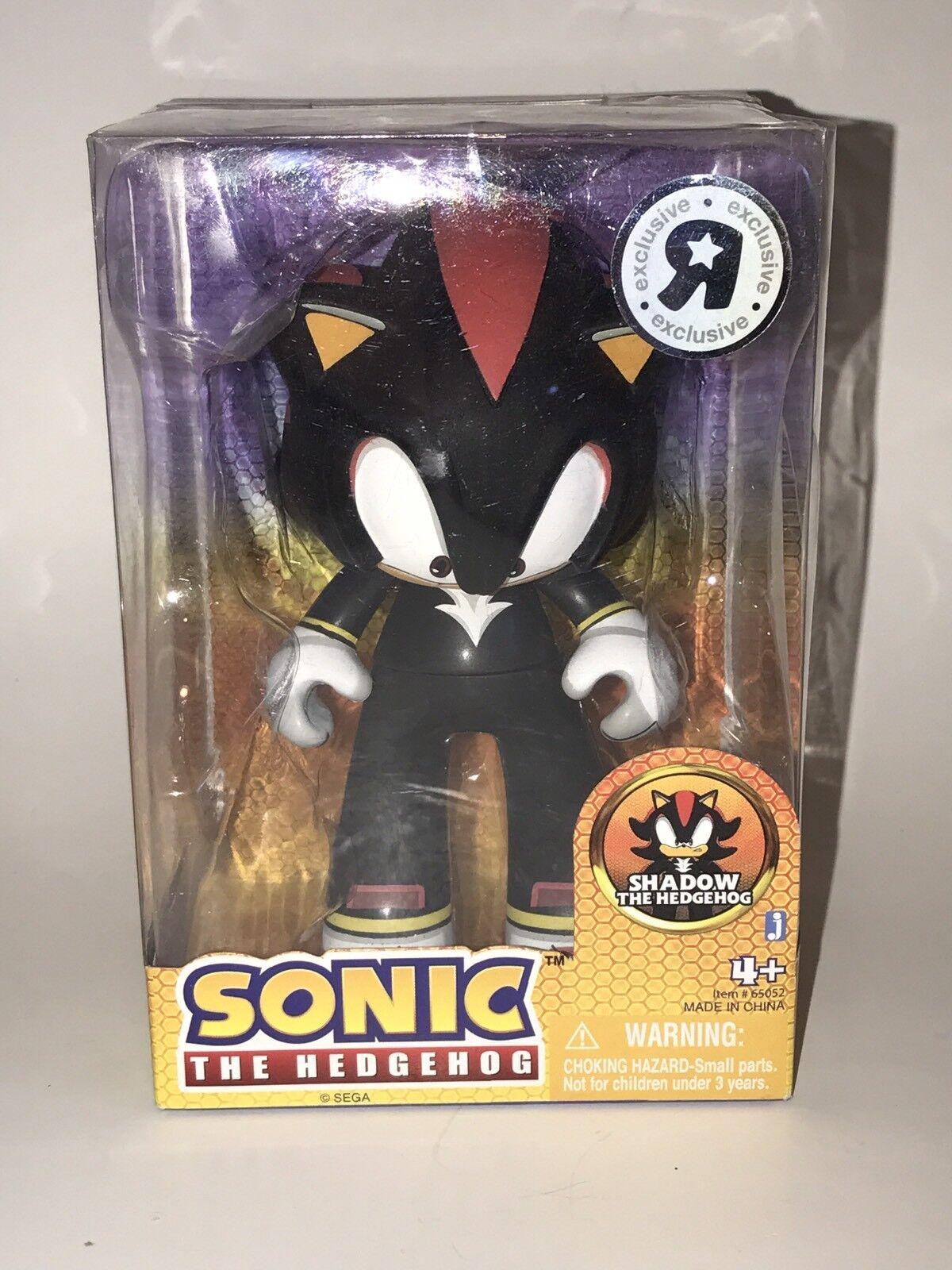 Sonic der Igel Juvi JUV1 Shadow Jazwares Sega Figur Nib 12.7cm 2009 Original