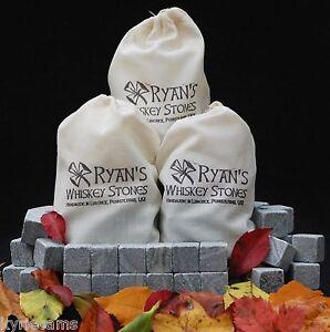 3 Sets Of 12 Ryan S Whiskey Stones Rocks Ice Cubes