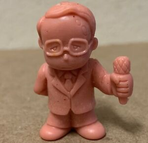 MUSCLE-Men-Mattel-Flesh-rare-The-Announcer-162-Kakano-San-mini-vinyl-figure-toy