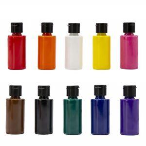 Acryl-Farben-Set 10 Farben x 40 ml |Acrylfarben Malfarben für Stein, Holz usw.