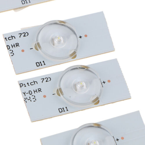 20pc 6V SMD Lamp Beads with Optical Lens Fliter for 32-65 inch LED TV Repair