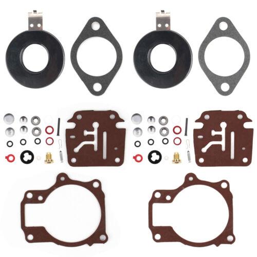 3x Carburetor Rebuild Repair Kit For Johnson Evinrude 45 48 50 55 60 65 70 75 hp