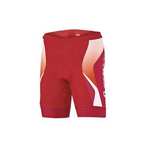Scott-Damen-Fahrradhose-034-Shadow-10-034-in-Rot-Orange-Groesse-L-40-mit-Polster