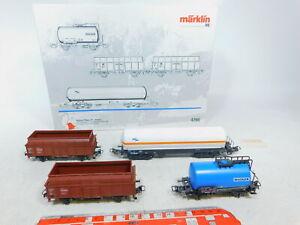 BZ511-1-Maerklin-H0-AC-4790-Gueterwagen-Regional-Wagen-Set-Bayern-NEUW-OVP
