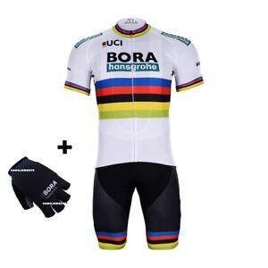 5bdf3e537 2018 BORA HANSGROHE UCI JERSEY BIB GLOVES HOBBY SET CYCLING TOUR DE ...