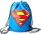 DC Comics Superman Gym Bag With Classic Logo Blue CI 05 C 2 SPM