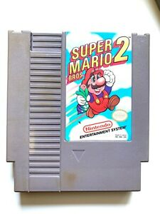 Super-Mario-Bros-2-Original-Nintendo-NES-Game-Tested-Working-amp-Authentic