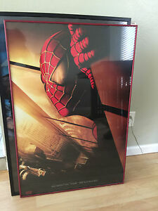 Spiderman-Original-Teaser-Double-Sided-27x40-inch-movie-poster-Recalled-2002