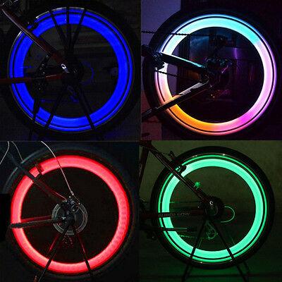 Hot  Vogue Bright Bike Bicycle Cycling Car Wheel Tire Tyre LED Spoke Light Lamp