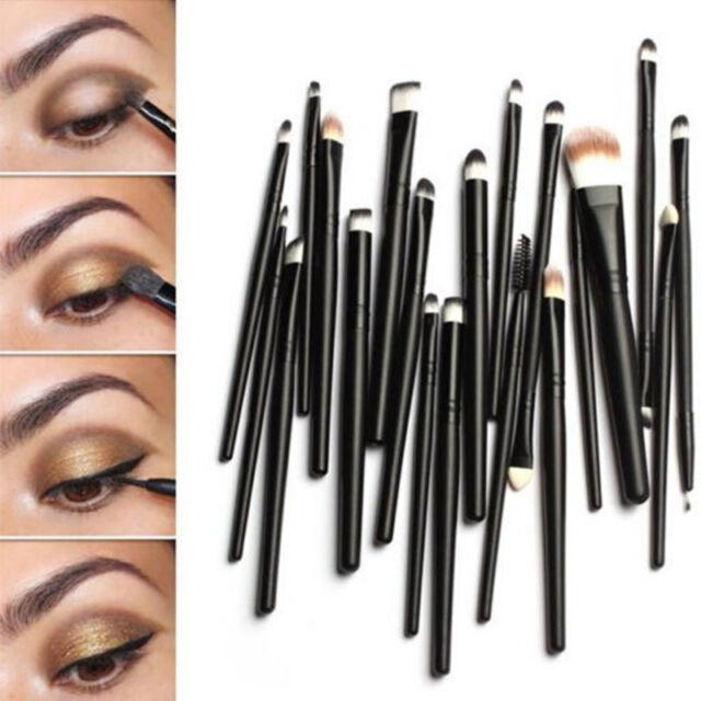 Pro Makeup Set Powder Eyeshadow Eyeliner Lip Cosmetic Brushes 20 pcs