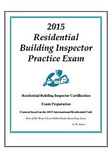 2015 ICC Residential Bldg Inspector Practice Exam on USB Flash Drive