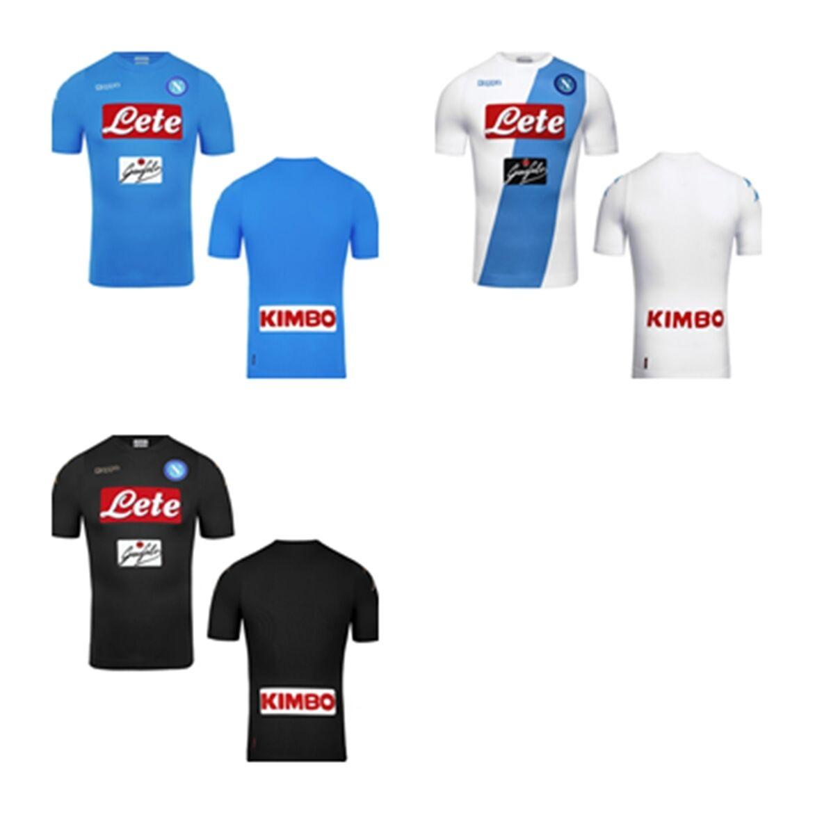 FW16 Napoli Kappa Trikot Kombat Haut 2017 T-Shirt Trikot Jersey
