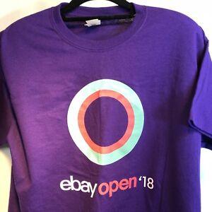 Details about Ebay Open 2018 T Shirt Las Vegas Convention Unisex Size L  Purple New