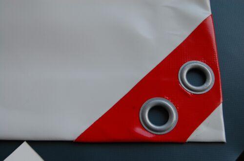 7,90 €//m² PROFI LKW PLANE PVC in 680 g//m² viele Maße und Farben zur Auswahl NEU