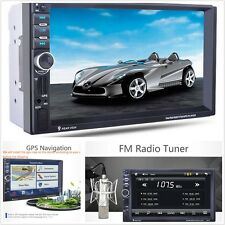 "1Pcs Universal 12V 7.0"" HD Black Car MP5 player and GPS Navigation Bluetooth FM"