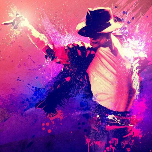 Michael Jackson poster wall art home decoration photo print 24x24 inches