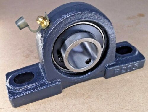 """Premium UCP205-16 Pillow Block 1/"""" Bore  Re-Lube w//Reinforced Housing SOLID BASE"""