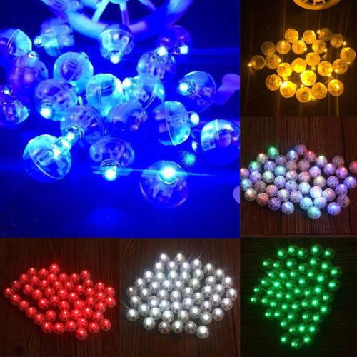 LED Ball Lamps Balloon Light for Lantern Wedding Halloween Party Christmas Decor
