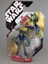 Star Wars 30th aniversario cardada figura Pax Bonkik escasos #54