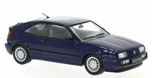 VW Volkswagen Corrado G60 - 1989 - bluemetallic - IXO 1:43