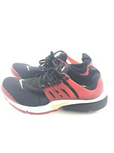 detailed look 12d6f 54a8d Details about Nike Air Presto Essential Red Black Yellow DS 848187-006 Sz 9  Mens 10.5 Womens