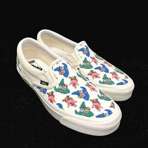 Vans Vault Spongebob Square Pants OG Classic Slip On White Dark Gum ... 06d7bc3b35