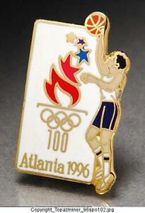 Sports Memorabilia Olympic Pins 1996 Atlanta Summer Games Sport Icons